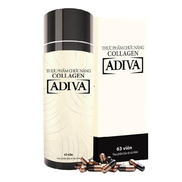 quy cách Adiva Collagen dạng Viên