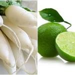 Củ cải trắng: Thần dược trị nám da - tri tan nhang bang cu cai trang 150x150