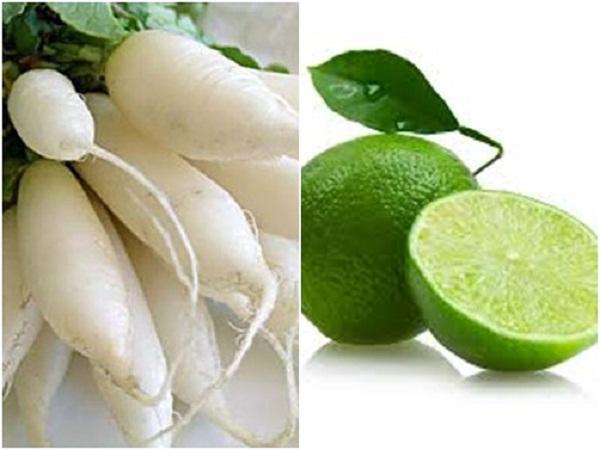 Củ cải trắng: Thần dược trị nám da - tri tan nhang bang cu cai trang