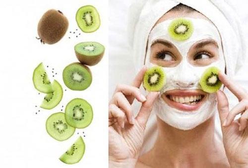 Cách tẩy da chết, dưỡng và trẻ hóa da bằng mặt nạ kiwi - Cach lam dep da voi mat na kiwi 4