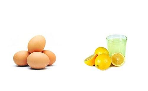 chăm sóc tóc với trứng gà