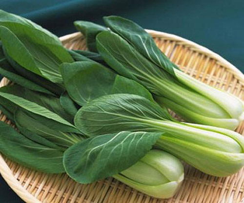 8 loại rau củ có tác dụng ngăn ngừa lão hóa cực kỳ hiệu quả - cải chip cải thìa