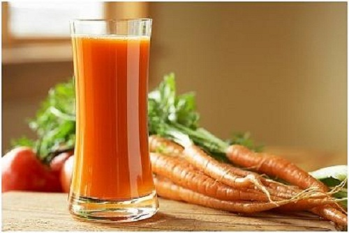 tác dụng của cà rốt trong làm đẹp da và tóc