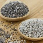 Hạt chia là gì? Hạt chia có tác dụng gì đối với sức khỏe và làm đẹp? - hình hạt chia đen và trắng 150x150