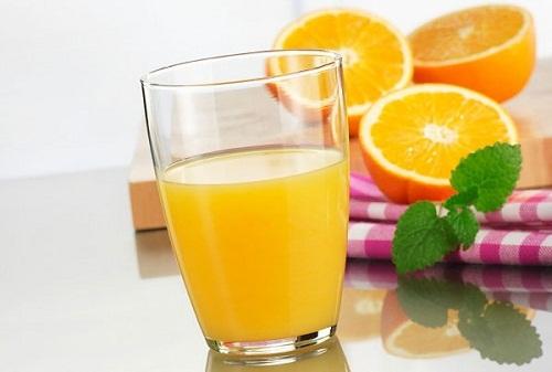 hình ly cam và các quả cam