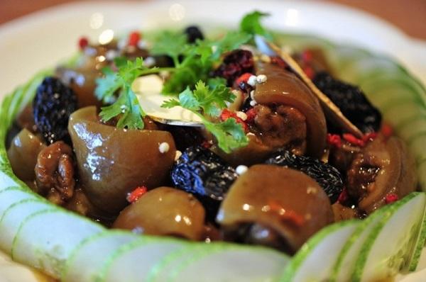 Bổ sung Collagen bằng những món ngon từ gân lợn - ham gan heo