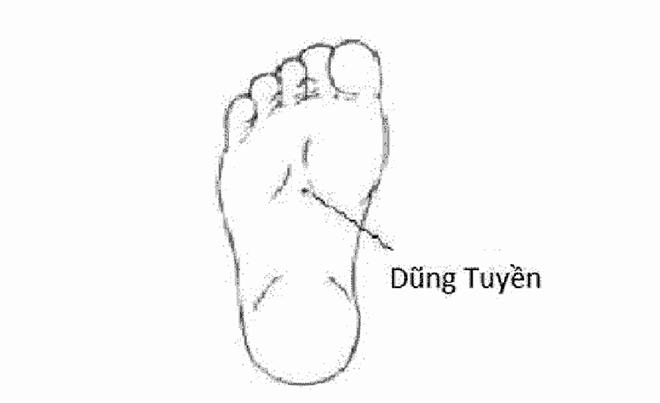 Xoa bóp bấm huyệt bàn chân làm đẹp da hiệu quả