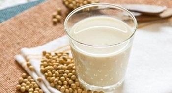 hình ly sữa đậu nành