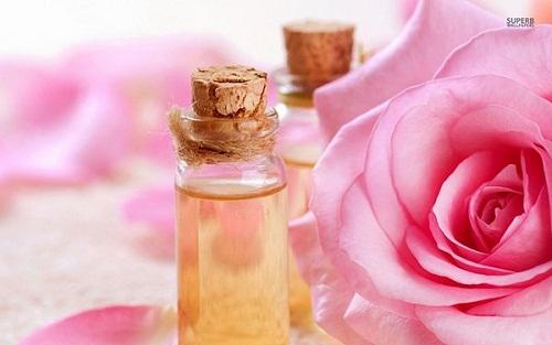 hình tinh dầu hoa hồng