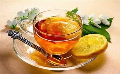 tách nước chanh - mật ong
