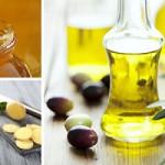 Cách dùng gừng tươi trị sẹo và thâm mụn cực tốt - hình nước ép gừng mật ong dầu ô liu 150x150