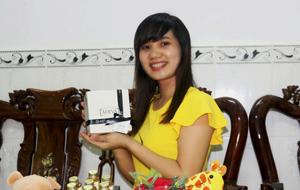 """Khách hàng Đặng Thị Ngọc Xuyến: """"Em đã dẹp hết lotion, kem dưỡng từ khi dùng loại này."""" - DANG THI NGOC XUYEN 3"""