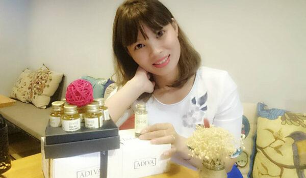 """Khách hàng Trần Thị Yến: """"Mình duy trì uống được 1 tháng nay thấy da thay đổi rõ rệt, căng mọng, mịn màng hơn và mờ dần vết thâm nám"""" - khach hang tran thi yen 600x350"""