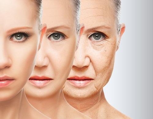 phụ nữ lão hóa