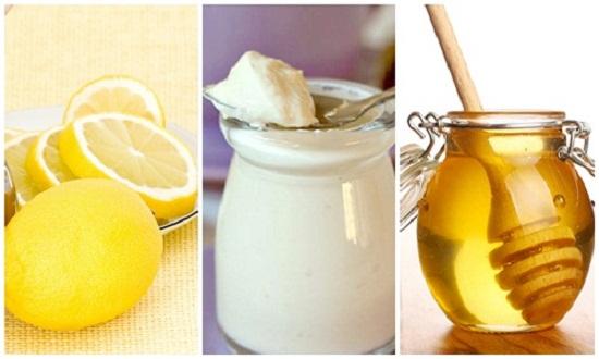 8 loại sữa rửa mặt tự nhiên cho làn da sạch đẹp - mat na chanh va mat ong sua chua