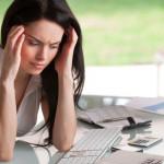 phụ nữ stress