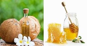 dầu dừa - mật ong