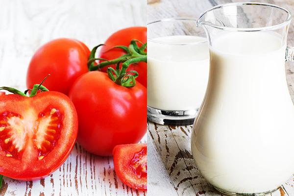 3 công thức tự làm mặt nạ ngủ qua đêm cực kỳ đơn giản khi đi du lịch - cà chua sữa