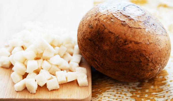 Củ sắn trị mụn, dưỡng da trắng sáng vô cùng hiệu quả - jicama14 570990553df78c7d9ed8ca491 600x350
