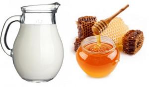 8 cách làm giảm nếp nhăn trên mặt tại nhà hiệu quả nhất - mật ong sữa tươi 300x175