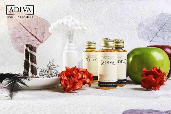 Collagen Adiva chăm sóc da mặt