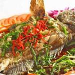 Có nên ăn cá khi bị viêm loét dạ dày tá tràng? - ca mu sot chua ngot 150x150