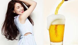 5 cách làm trắng da bằng bia tại nhà đơn giản ai cũng làm được - cach lam trang da bang bia 6 300x175