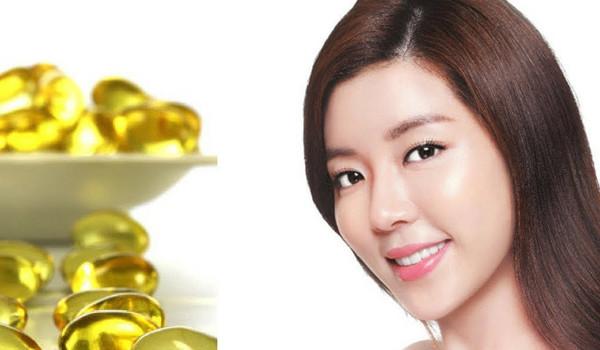 lam trang da bang vitamin e