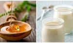 4 loại mặt nạ tự nhiên làm trắng da nhạy cảm an toàn, hiệu quả nhất - sua chua mat ong 150x88