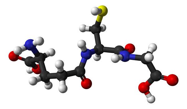 cấu trúc glutathione