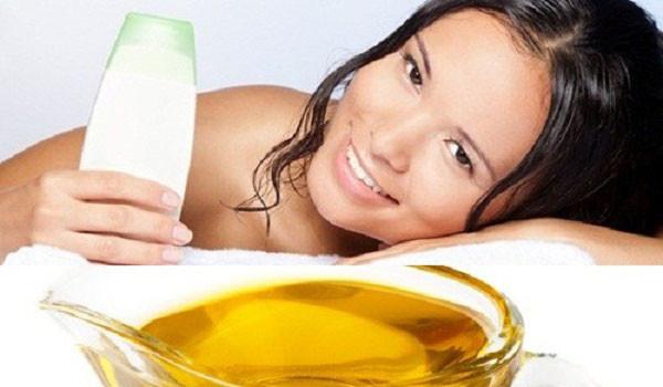 Cách dưỡng trắng da toàn thân tại nhà bằng dầu ô liu - dau o liu sua tam 600x350