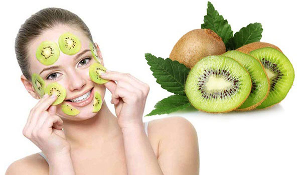 cách trị nám da mặt từ quả kiwi