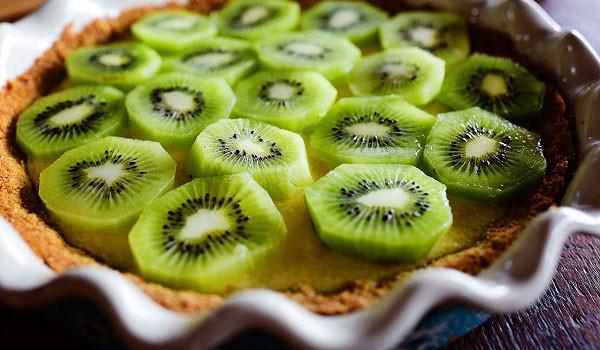 10 loại trái cây dưỡng da chống lão hóa hàng đầu - trai ki wi 600x350