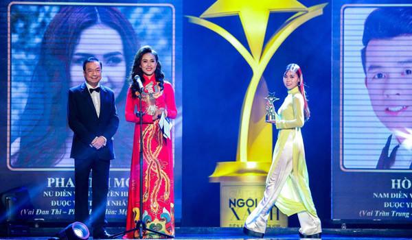 Diễn viên Như Phúc rạng rỡ xuất hiện tại sự kiện Ngôi Sao Xanh trong vai trò đại sứ nhãn hàng Collagen ADIVA - dien vien nhu phuc1 600x350