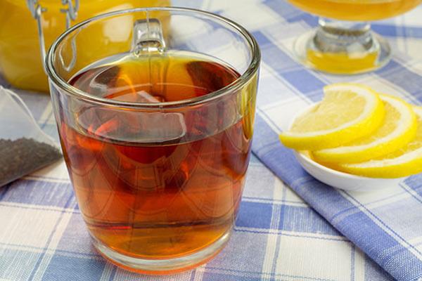 uống gì chống lão hóa da - trà gừng