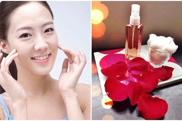 15 biện pháp điều trị da khô quanh mắt ởtại nhà - cach chua bong mat duoi bang nuoc hoa hong