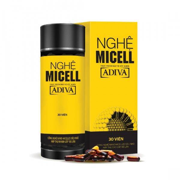 Uống nghệ Micell ADIVA có hết viêm loét dạ dày không?