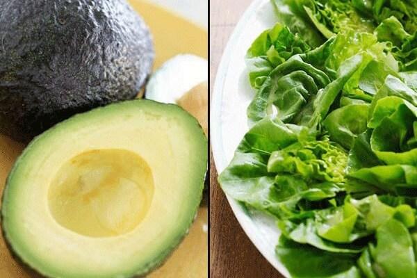 Bơ + salad rau xanh -Kết hợp các cặp đôi thực phẩm này sẽ được lợi gì