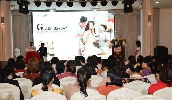 """Nhãn hàng ADIVA khởi động chiến dịch """"GIÀ, THÌ ĐÃ SAO ?!"""" tại tỉnh Quảng Ngãi - DSC 1040 600x350"""