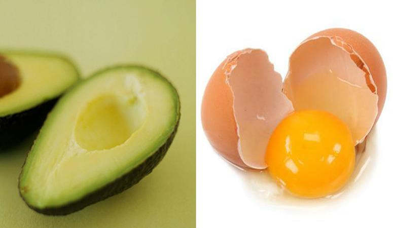 Bí quyết làm mặt nạ lòng đỏ trứng để dưỡng da - bơ và lòng đỏ