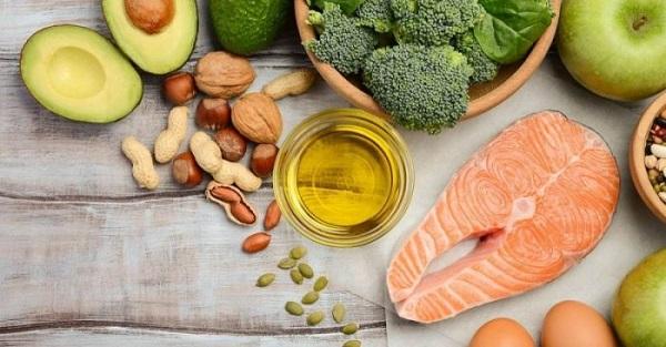 thuc pham chua nhieu collagen protein va vitamin e