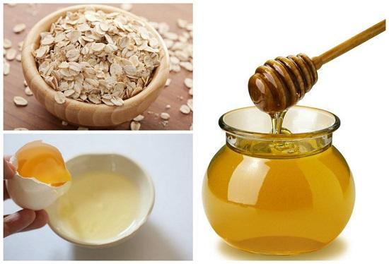 Lòng trắng trứng gà – mật ong: Bí quyết trẻ mãi không già - tri mun cam bang bot yen mach 1