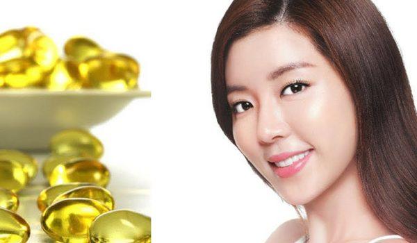 Cách dùng viên nang vitamin E hiệu quả - phụ nữ và viên nang vitamin E 600x350