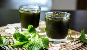 Top các loại thức uống đẹp da tốt cho sức khỏe - thuc uong dep da rau ma 300x175