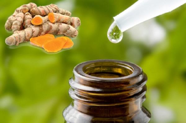 Kháng nấm trên da và tóc bằng tinh dầu nghệ