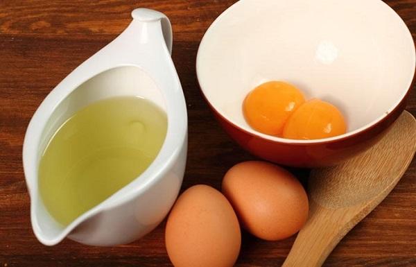 Mặt nạ cấp nước cho da từ trứng gà