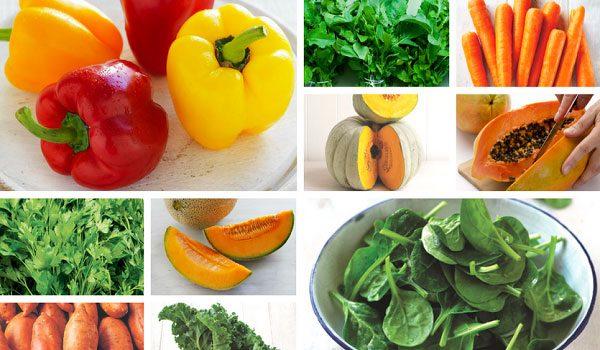 9 loại vitamin và khoáng chất giúp hệ miễn dịch khỏe mạnh - thuc pham chua nhieu vitamin A 600x350