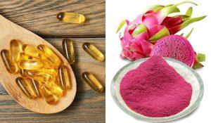 Tăng cường sức đề kháng với trái thanh long, đừng quên làm trắng da thải độc với White ADIVA - thanh long vitamin E 300x175