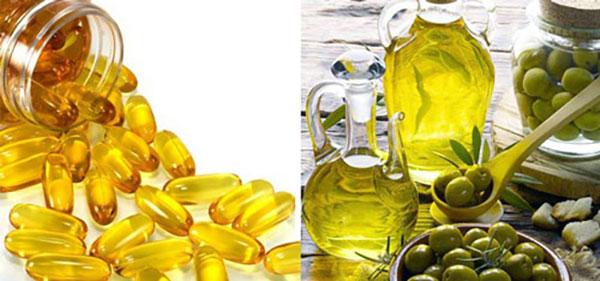 Bí quyết có làn da đẹp cho mọi loại da! - vitamin E dau o liu