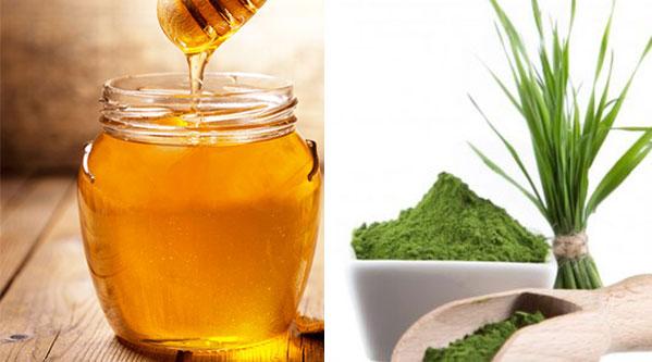 5 lợi ích tốt nhất của nước ép cỏ lúa mì đối với da, tóc và sức khỏe - mat ong bot co lua mi
